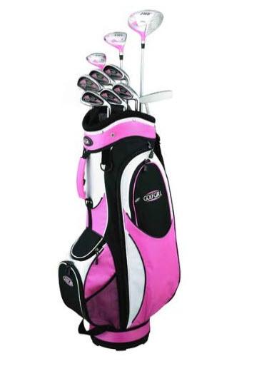 womens pink golf set